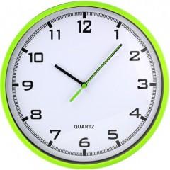 Nástenné hodiny MPM, 2478.41.A - zelená svetlá, 26cm
