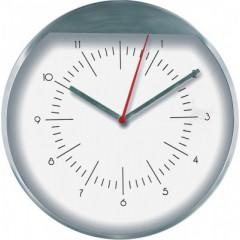Nástenné hodiny MPM, 2481.7000 - strieborná/biela, 25cm
