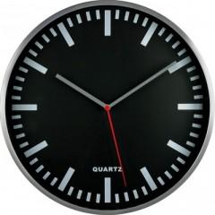 Nástenné hodiny MPM, 2483.7090 - strieborná/čierna, 30cm