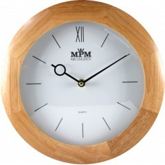 Nástenné hodiny MPM, 2829.53 - svetlé drevo, 28cm