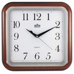 Nástenné hodiny MPM, 2440.50.SW - hnedá, 30cm