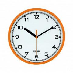 Nástenné hodiny MPM, 2477.60 - oranžová, 20cm