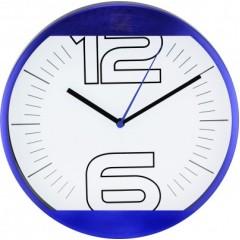 Nástenné hodiny MPM, 2487.30 - modrá, 25cm