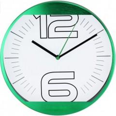 Nástenné hodiny MPM, 2487.40 - zelená, 25cm