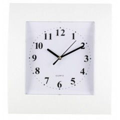 Nástenné hodiny MPM, 2499.00 - biela, 29cm