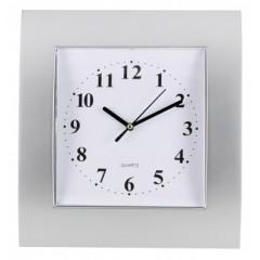 Nástenné hodiny MPM, 2499.7000 - strieborná/biela, 29cm