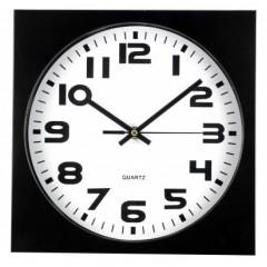 Nástenné hodiny MPM, 2500.90 - čierna, 26cm