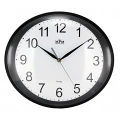 Nástenné hodiny MPM, 2534.90 - čierna, 30cm
