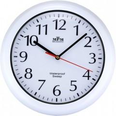 Nástenné hodiny MPM, 2535.00 - biela, 30cm