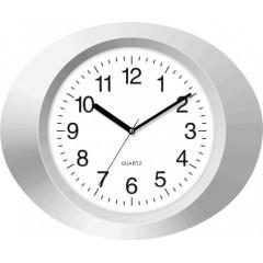 Nástenné hodiny MPM, 2635.70 - strieborná, 33cm