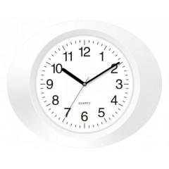 Nástenné hodiny MPM, 2635.00 - biela, 33cm