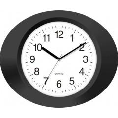 Nástenné hodiny MPM, 2635.90 - čierna, 33cm