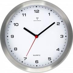 Nástenné hodiny MPM, 2637.70.A.RC - strieborná, 35cm