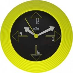 Nástenné hodiny MPM, 2690.45 - pistáciová, 25cm
