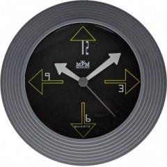 Nástenné hodiny MPM, 2690.92 - šedá, 25cm
