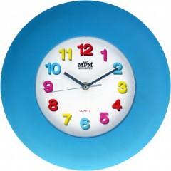 Nástenné hodiny MPM, 2809.30 - modrá, 30cm