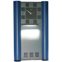 Nástenné hodiny MPM, 2821.30 - modrá, 40cm