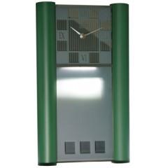 Nástenné hodiny MPM, 2821.40 - zelená, 40cm