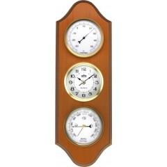 Nástenné hodiny MPM, 2701.53 - svetlé drevo, 40cm