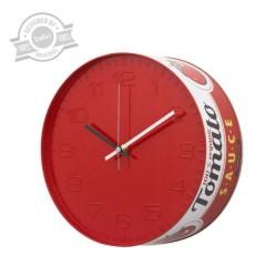 Nástenné hodiny Balvi Tomato Sauce, 25cm