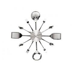 Nástenné hodiny do kuchyne UTENSILS, 58cm