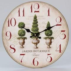 Nástenné hodiny HLC, Jardin Botanique, 34cm