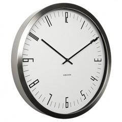 Nástenné hodiny KA5612WH Karlsson, Cased Index, 44cm