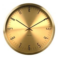 Nástenné hodiny KA5612GD Karlsson, Cased Index, 44cm