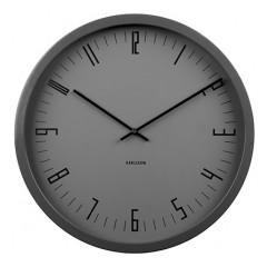 Nástenné hodiny KA5612BK Karlsson, Cased Index, 44cm