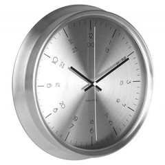 Nástenné hodiny KA5597SI Karlsson, NAUTICAL, 30cm