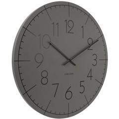 Nástenné hodiny KA5593GY Karlsson, Blade Numbers XL, 60cm