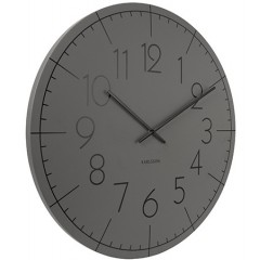 Nástenné hodiny KA5592GY, Karlsson, Blade Numbers, 40cm