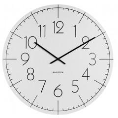 Nástenné hodiny KA5592WH, Karlsson, Blade Numbers, 40cm