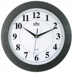 Nástenné hodiny MPM, 2460.92.SW - šedá, 31cm