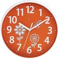 Nástenné hodiny MPM, 3230.60 - oranžová, 25cm