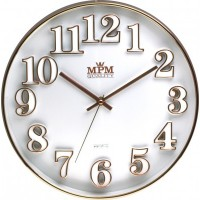 Nástenné hodiny MPM, 3222.00 - biela, 30cm