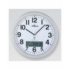 Nástenné hodiny Atlanta 4380/19, rádiom riadené, 30cm