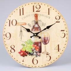 Nástenné hodiny HLC, Chateau au Margaux, 34cm