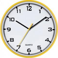 Nástenné hodiny MPM, 2479.10 - žltá, 30cm