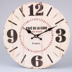 Nástenné hodiny HLC, Café de la Gare, 34cm