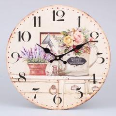 Nástenné hodiny HLC, Gardening, 34cm