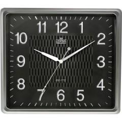 Nástenné hodiny MPM, 2929.7090.SW - strieborná/čierna, 36cm