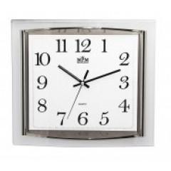 Nástenné hodiny MPM, 2442.00.SW - biela, 36cm
