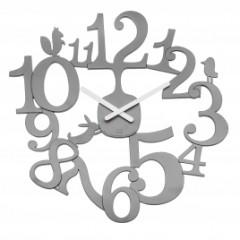Nástenné hodiny PI:P Koziol, šedá, 45cm
