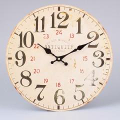 Nástenné hodiny HLC, Antiquite de Paris 28 rue, 34cm