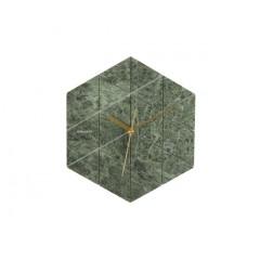 Nástenné hodiny KA5591GR, Karlsson, Marble Hexagon, 29cm