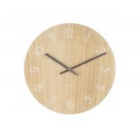Nástenné hodiny KA5619wd, Karlsson Wood medium light, 40cm