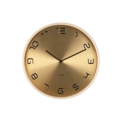 Nástenné hodiny KA5611gd, Karlsson, Bent Wood, 35cm