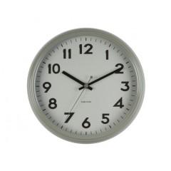Nástenné hodiny KA5610GY, Karlsson, Badge, 38cm
