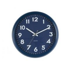 Nástenné hodiny KA5610BL, Karlsson, Badge, 38cm